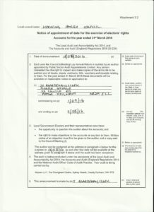 Scan - electors' rights advertisement document