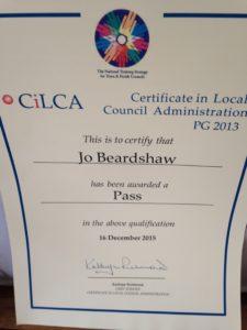 clerk cilca qualification